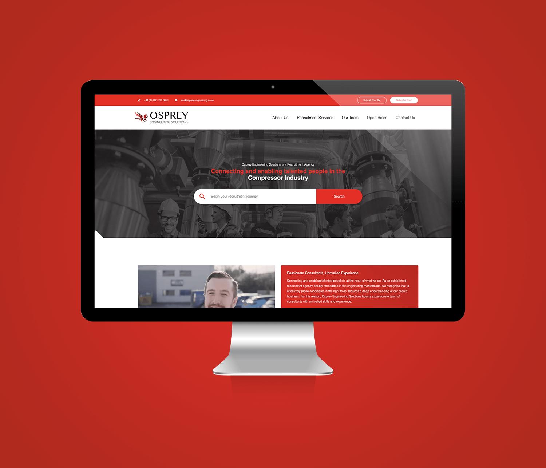 Osprey Engineering Solutions Ltd - Website Design